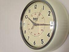 New Shabby chic Retro modern wall clock Room Decoration - Cream