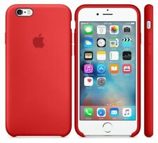 "RED Genuine ORIGINAL Authentic Apple Silicone Case iPhone 6S 4.7""  NEW"