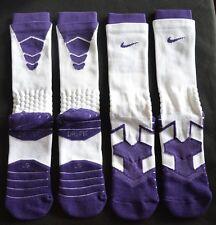 (2-PACK) Nike Men's Elite Vapor Crew Football Cushioned Socks PSX311 Sz. LG