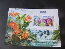 Maldives 2013 Orchids Flowers MS MNH UM unmounted mint