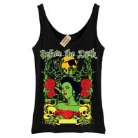 Before the dark T-Shirt vampire gothic skull Vest Womens