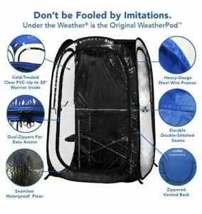 Under the Weather InstaPod Stay Warm & Dry Weather Pod Black XL Pop Up Tent!