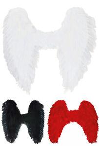 Engelsflügel Kostüm Party Karneval Teufel Engel Weihnachten Auswahl Farbe Größe