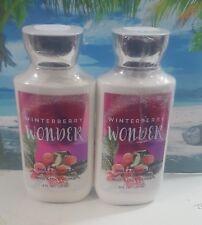 bath and body works winterberry wonder body lotion