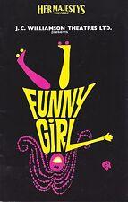 "Jill Perryman ""FUNNY GIRL"" Evie Hayes / Jule Styne 1966 Australian Cast Playbill"