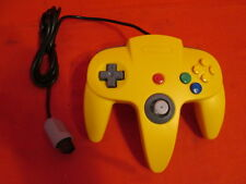 Controller Remote Yellow For N64 Nintendo Gamepad