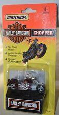 1993 Matchbox Harley Davidson Chopper Burgundy 76246 NEW