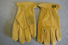 NEW Custom Leather Craft CLC Cowhide Work Driving Gloves Size Large L PK3000