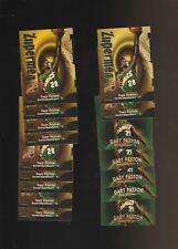 Gary Payton Sonics Basketball Card Lot Skybox Z-Force Fleer