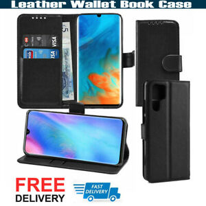 Genuine Wallet PU Leather Case Phone Stand Case Cover Huawei P40, P30 Pro P30 5G