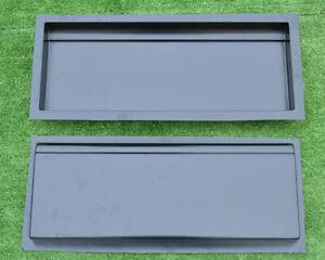 Concrete molds edge stone concrete edging border sold set 2 pcs BR14