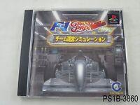F1 Grand Prix 1996 Playstation 1 Japanese Import PS1 PS Japan US Seller B/Good