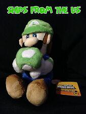 """Nintendo Super Mario 6"""" Plush San-ei - Luigi"""