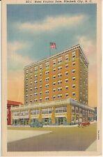 Hotel Virginia Dare Elizabeth City NC Postcard