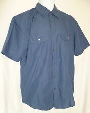Subtle Stripe ALFANI Blue Black Shirt Shortsleeve NWT Medium