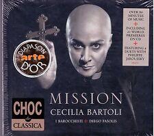 Mission Cecilia Bartoli Deluxe Diego Fasolis + I Barocchisti Cd Sigillato Sealed