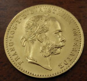 Austria 1915 Trade 1 Gold Ducat UNC Restrike Franz Joseph I