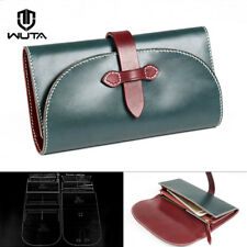 Wuta Belt Lock Long Wallet Template Acrylic Leather pattern Craft Tool 969