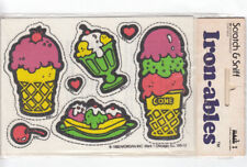 Vintage Mark I Scratch and Sniff Skin Ironables Sticker Package - Ice Cream