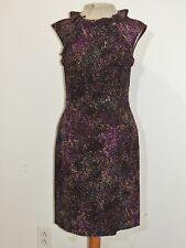 Escada Sport Silk Dress w Flounce Ruffles SM EURO 32
