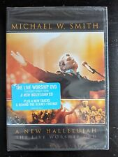 Michael W. Smith - A New Hallelujah: The Live Worship DVD (DVD, 2009) Sealed New