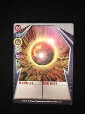 Bakugan GUNDALIAN Metal Gate Card BA1004 VR Arena #4 4/48a