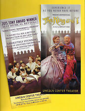 "Kelli O'Hara ""KING AND I"" Rodgers & Hammerstein / Four Tony Awards 2015 Flyer"