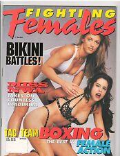 Fighting Females Wrestling Magazine Diva's /Bikini Battles/ Boxing Spring 1997