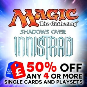 MAGIC THE GATHERING - MTG - SHADOWS OVER INNISTRAD - SINGLE / LAND / TOKEN CARDS