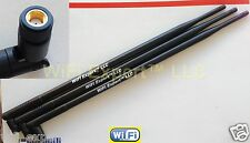 3x Lot !!! 9 db dbi dbm 10db dbi dbm RP-SMA Wireless WIFI WLAN High Gain antenna