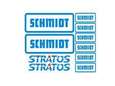 Sticker, aufkleber, decal - SCHMIDT STRATOS