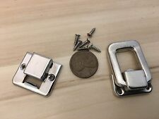 1 Piece Y&N silver hasp small box hardware lock latch latches catches A11