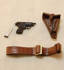 DiD / 3R WW2 German Manstein Walther PPK, Holster, Belt 1/6 scale