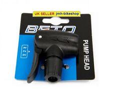 Universal Fitting Track Pump - Bike Pump Dual Valve Replacement Head BETO