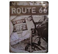 Blechschild Schild 30x40 Deko Route 66 USA Keller Party Reklame Tin Geschenk