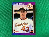 1989 Donruss #635 Curt Schilling DP RC Rookie Baltimore Orioles