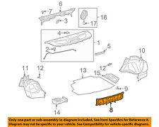 TOYOTA OEM 09-13 Corolla Interior-Rear-Rear Panel Trim 5838702100B0