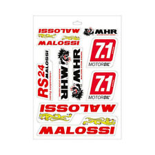 MALOSSI STICKER 25x35CM BIKE MOPED RACING SCOOTER STICKERS VINYL DECALS TUNING