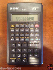 Sharp EL-531L Pocket Scientific Calculator w/slide Cover