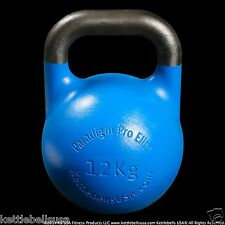 12 kg-26 lb Paradigm Pro ELITE Precision Competition Kettlebell *FREE SHIPPING*