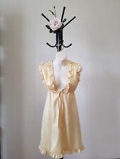 ✿♡ 'Cooper St' Womens Dress Size 6 (Bright Yellow Ruffle) ♡✿