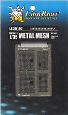 Lion Roar 1/35th Scale Metal Engine Screen Mesh Item No. LE35107 for TIGER I