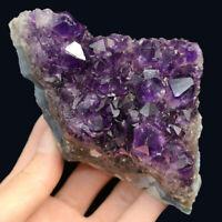 Natural Amethyst Geode Vug Purple Crystal Cluster Uruguay Specimen Reiki 317G