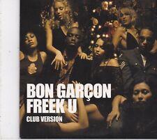 Bon Garcon-Freek U cd maxi single 5 tracks cardsleeve
