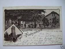 AK Finkenborn Hameln 1896 Lith.
