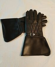 Vintage - 1970 Rocky Cycle Co BLACK VINYL SHELL RAYON LINING GLOVES JAPAN #2