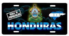 "Honduras Aluminum License Plate Placa 6"" x 12"""