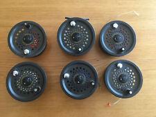 Leeda Magnum 200D Salmon Fly Fishing Reel + 5 Spare Spools