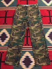 Vintage Vietnam Era Abercrombie & Fitch Safari Camouflage Pants 32X32! 4975