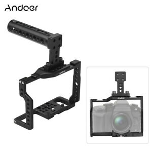 Andoer G85 Camera Cage+ Handle Stabilizer Kit for Panasonic G85/G80 G9R0